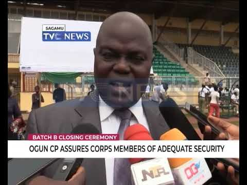 Image result for Ogun Commissioner of Police assures Corps members of adequate security