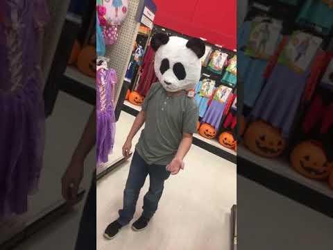 Bubba dancing in Target