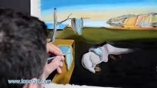 Dali - The Persistence of Memory   Art Reproduction Oil Painting
