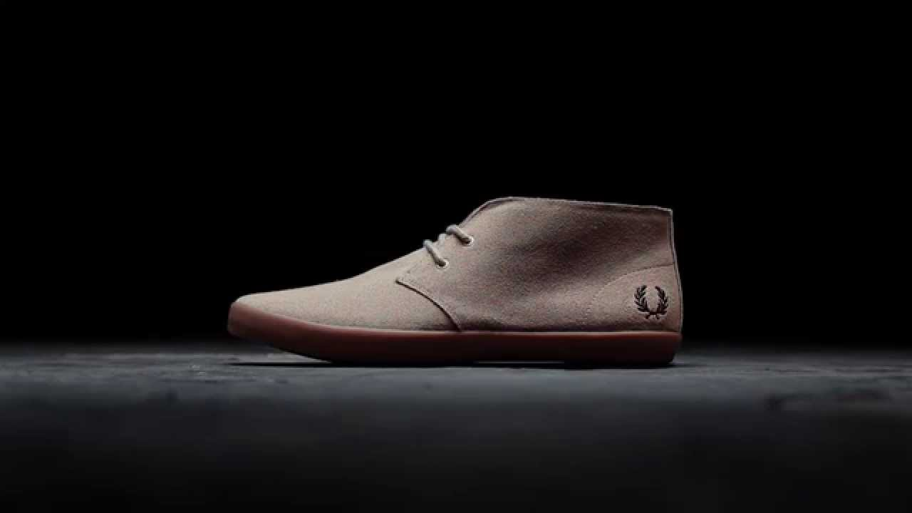 meilleur pas cher 843b8 d3182 The Byron. Fred Perry Footwear.
