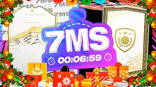 XMAS SPECIAL BASE ICON MARQUEE PLAYER!! 7 MINUTE SQUAD BUILDER - FIFA 21 ULTIMATE TEAM
