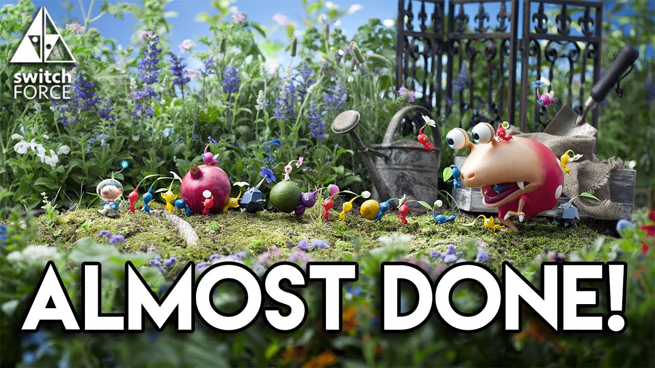 Pikmin 4 Switch Update Game Almost Done Coming 2018 Youtube