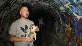 returning the haunted doll faze rug tunnel