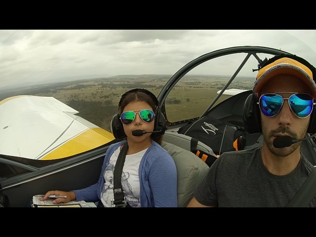 Flying Zenith Zodiac 601XL with my Daughter