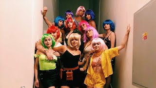 Sophie Turner 'Wigs-Out' at Bachelorette Party with Maisie Williams