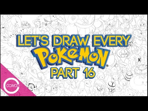 Let's Draw EVERY POKEMON Live! - PART 16 (#610-627)