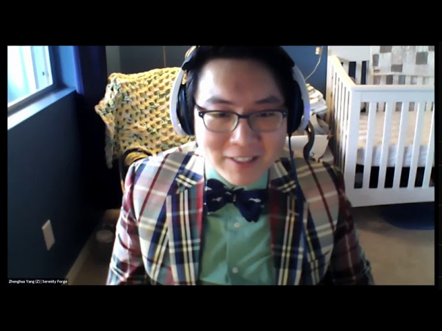 Colorado Lottery GameJam - Zhenghua Yang, Founder & CEO of Serenity Forge