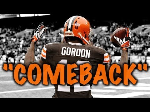 "Josh Gordon Comeback Hype 2017 ""DEVASTATED"" Josh Gordon Highlights"