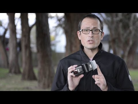How to use a flash stofen (diffusion dome) - Quick Photo Tip