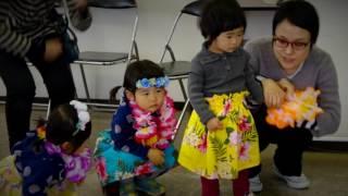 ハワイアンリトミック教室の様子です♪ 詳細は、こちら⇒ http://happy-al...