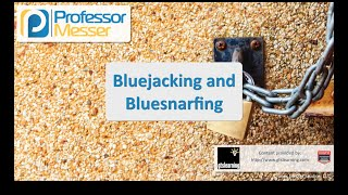 bluejacking and bluesnarfing comptia security sy0 401 3 4