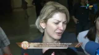 TV Fama: Antonia Fontenelle desabafa sobre morte de Marcos Paulo