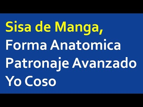 Sisa de Manga, Forma Anatomica - Patronaje Avanzado