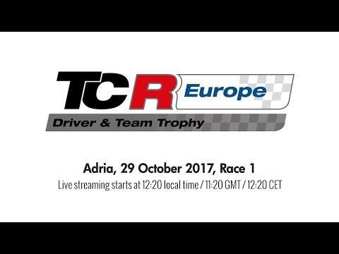 2017 Adria, TCR Europe Trophy Race 1