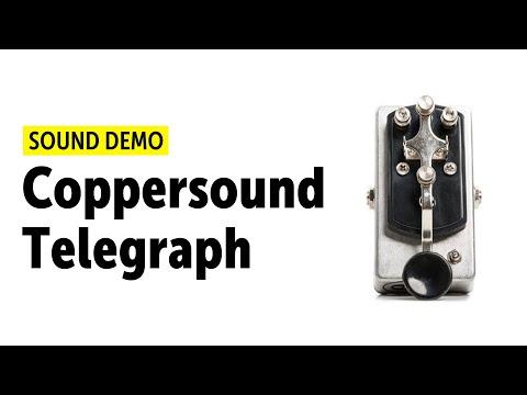 Coppersound Telegraph Sound Demo (no talking)