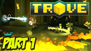 Trove - Candy Barbarian! - Part 1 - Gameplay/Let