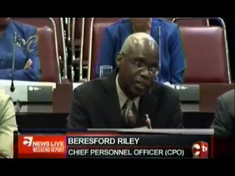 Chief Personnel Officer: There's No Policy In The Public Service Which Governs Short Term Contracts