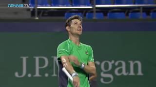 Djokovic eases through; Ebden, Jarry shock the stars   Shanghai 2018 Highlights Day 3