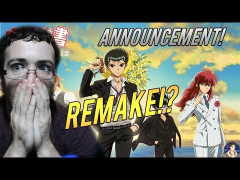 Yu Yu Hakusho 25th Anniversary Announcement! Possible New Remake!? Coming in 2017!