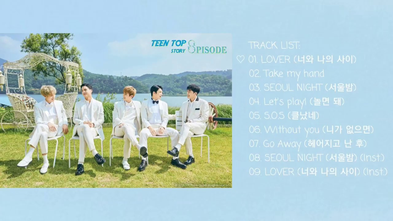 With blue teen top list theme simply