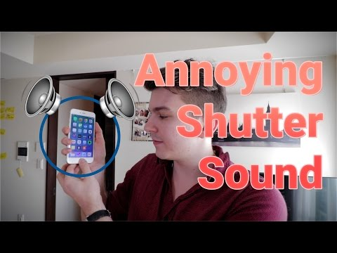 Japanese Phones And Shutter Sound