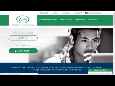 Walkthrough Of The WES Canadian ECA Application For IRCC