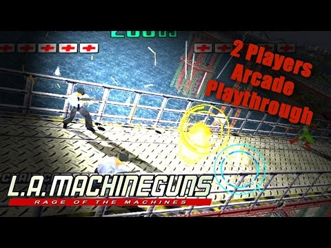 L.A. Machineguns Arcade Game - Full Playthrough (Sega Arcade Classic) - 1080p 60FPS