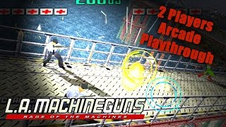 L.A. Machineguns Arcade Game - Full Playthrough (Sega Arcade Classic) - 1080p 60FPS