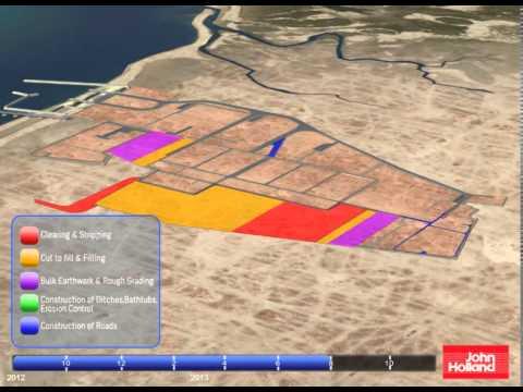 Wheatstone clearing - Master Plan-WA