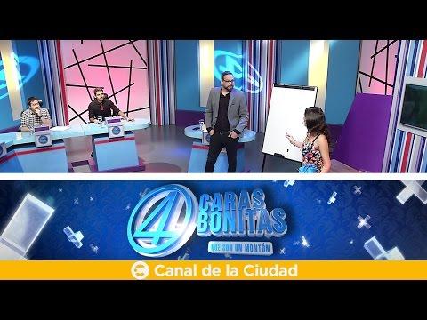 """<h3 class=""""list-group-item-title"""">Noticias, humor y nos visita el humorista Alacrán - 4 Caras Bonitas</h3>"""