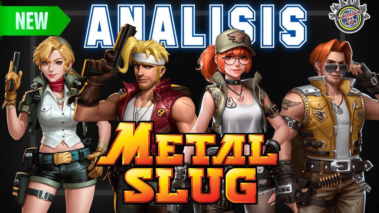 Análisis a Metal Slug Code.J