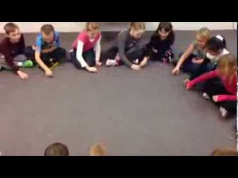 Obwisana Stone Passing Game - 2nd graders