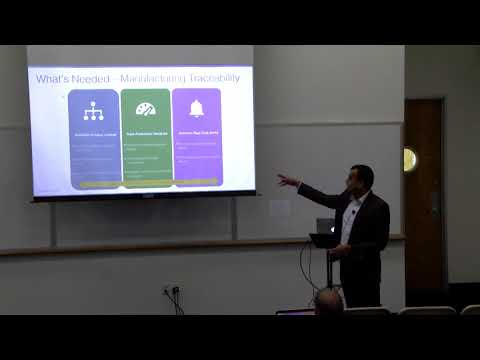 Manufacturing Process Traceability w/ Apex by Roshan Kulkarni, CEO, Mindstix Software Labs