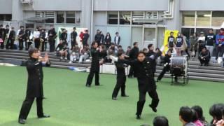 H28/11/5撮影の神山祭の時の全學應援團の演舞です.