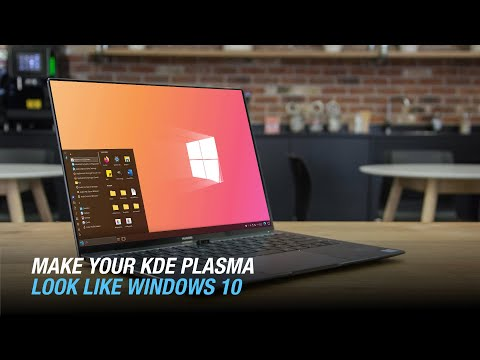 Make Your KDE Plasma Look Like Windows 10 | We10XOS Theme