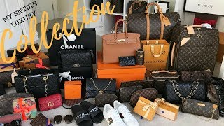 MY LUXURY COLLECTION😱 2017 | JerushaCouture