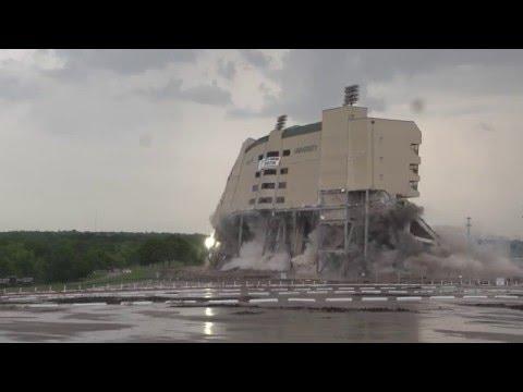 Floyd Casey Demolition - 05/14/2016 - KWTX