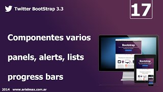 17 Cursos de BootStrap v3.3 - Componentes varios