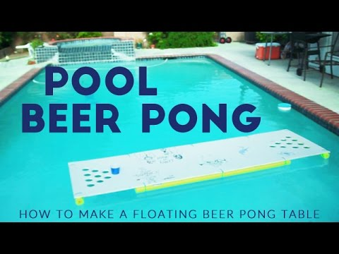 Floating beer pong table diy pool pong tutorial youtube floating beer pong table diy pool pong tutorial solutioingenieria Image collections