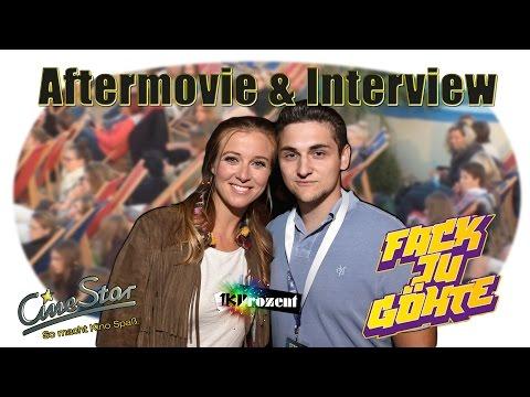 Aftermovie & Interview mit Elyas M'Barek und Nina Eichinger | Fuck ju Göthe 2
