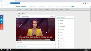 Haber Global Canlı Yayın - Canlı Tv Izle