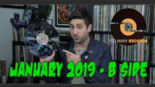 Vinyl HaulRecord Reviews January B-Side 2019 GIVEAWAY!