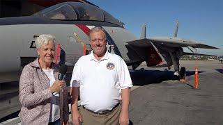 F-14 Tomcat Walk Around with Former Top Gun Pilot Mike Rabens