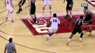 Hayes Drives and Dunks vs. UW-Milwaukee