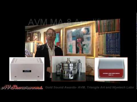 Gold Sound Awards, AVM Amplifier, Triangle Art Turntable, Wyetech Ruby P1 Phono