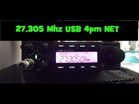 27.305 Mhz USB net.  CRT Superstar SS 9900 UK CB RADIO