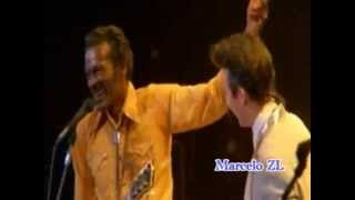 Chuck Berry & Julian Lennon   Johnny B Goode 1986