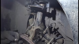 Замена подшипника верхней передней опоры Peugeot 807