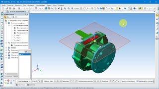 САПР Компас-3D.  Сечение моделей плоскостью, поверхностью и по эскизу