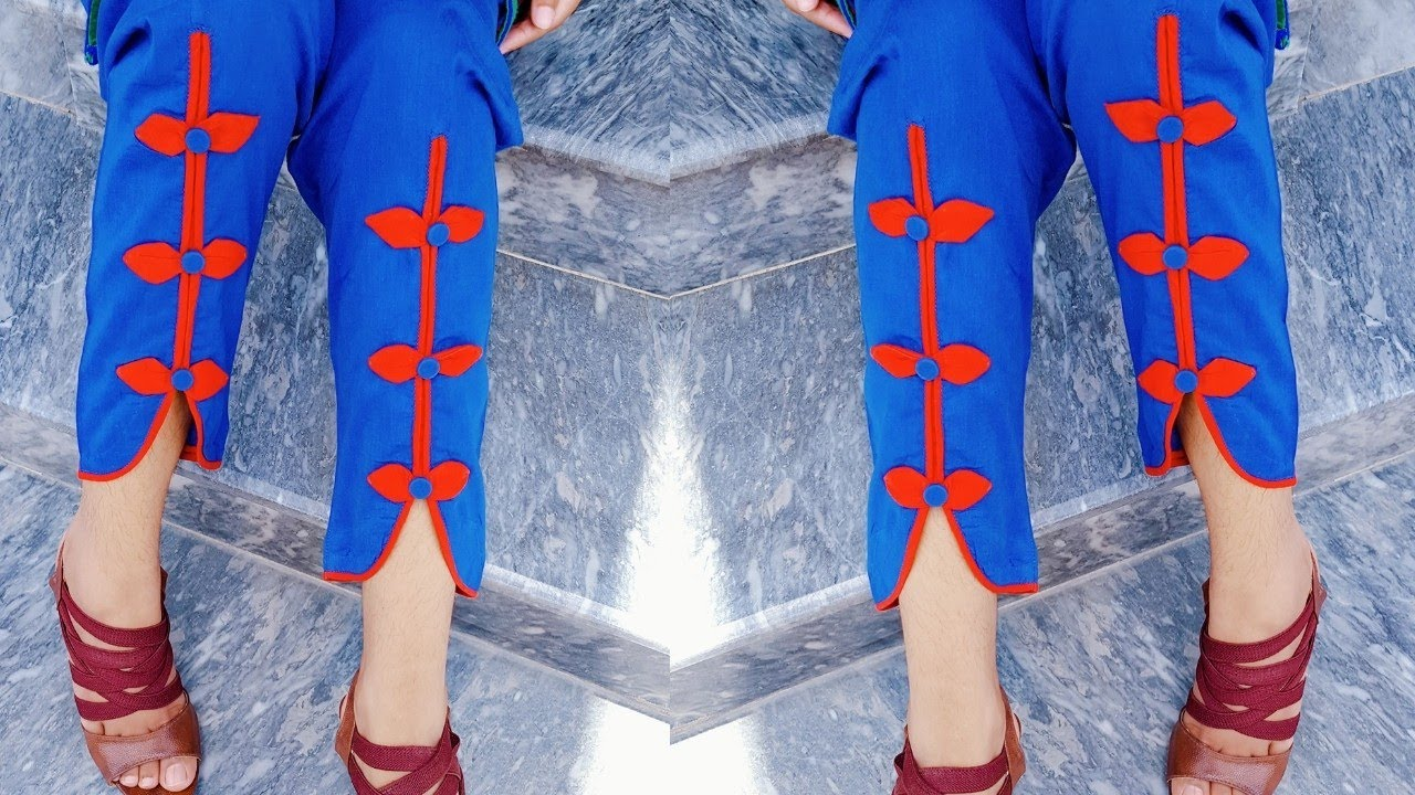Latest Capri Bottom design 2018 cutting and stitching - YouTube 9fc970d48